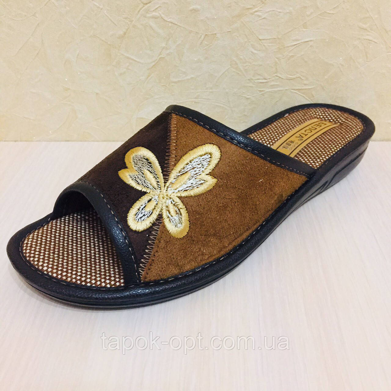 Обувь домашняя женская открытая