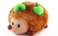 Мягкая игрушка. Ежик с яблоками (17 см, музыкальная) LF989 LAVA