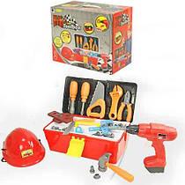 Игровой набор инструментов Bambi с дрелью