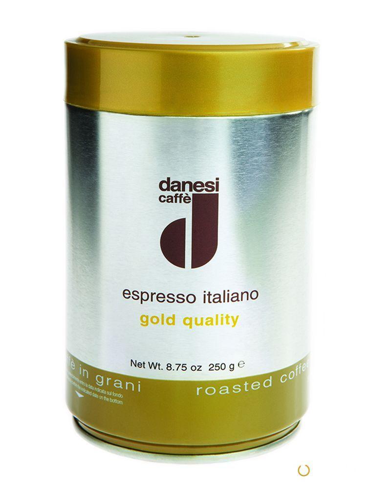 Кофе в зернах Danesi Gold 0,25 кг