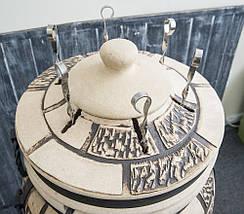 Тандыр подарочный на 45 литров. Дизайн «Кирпич», фото 3