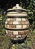Тандыр подарочный на 45 литров. Дизайн «Кирпич», фото 6
