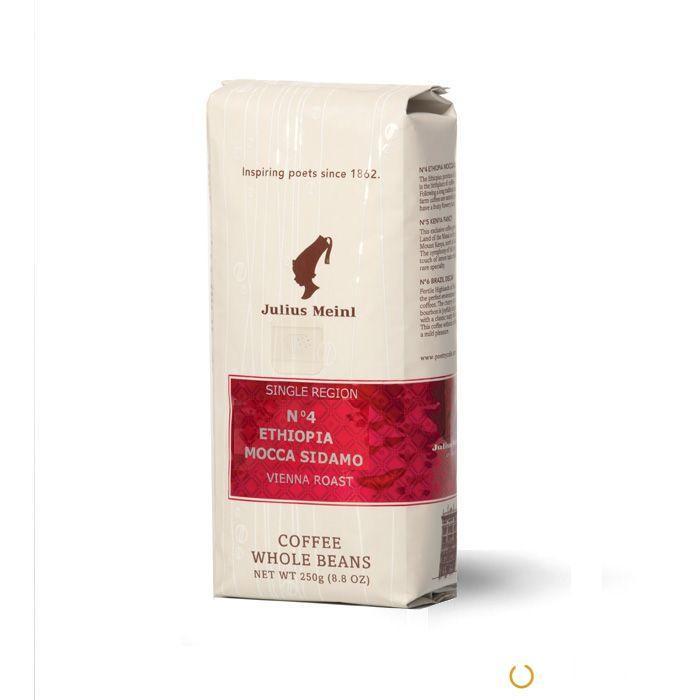 Кофе зерновой Julius Meinl №4 Ethiopia Mocca Sidamo (Эфиопия Сидамо) 250 г