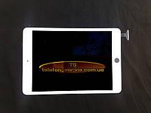 Сенсорный экран  Apple iPad Mini, iPad Mini 2 Retina, белый, с защитным стеклом