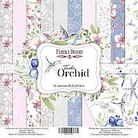 Набор бумаги для скрапбукинга Фабрика Декора 30,5*30,5см Tender orchid 10л + бонус 200г/м2 FDSP-01041