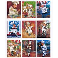 Набор карточек - картинок для декорирования Фабрика Декора Итальянская кухня, мини 9.7.002