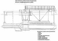 Илосос  диаметром 24м М743 для вторичных радиальных отстойников