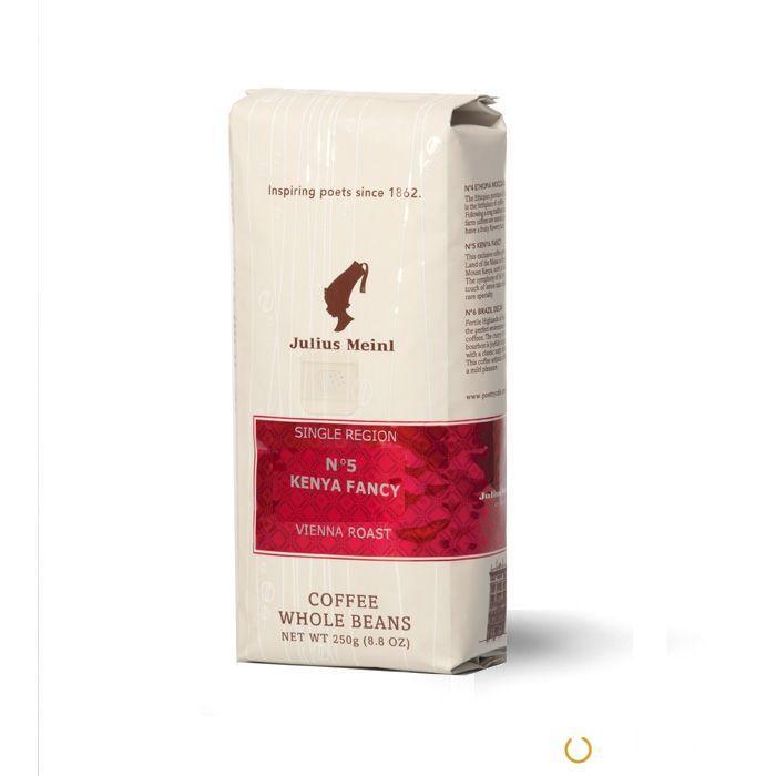 Кофе зерновой Julius Meinl №5 Kenya Fancy (Кения) 250 г