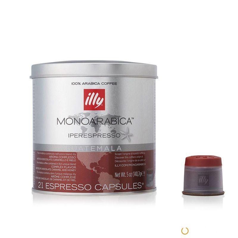 Кофе в капсулах ILLY iperEspresso GUATEMALA MONOARABICA ж/б 21 шт