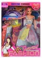 Кукла с аксессуарами и платьями 1003-5