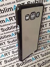 Чехол для 2D сублимации пластиковый на Samsung Galaxy A3 черный