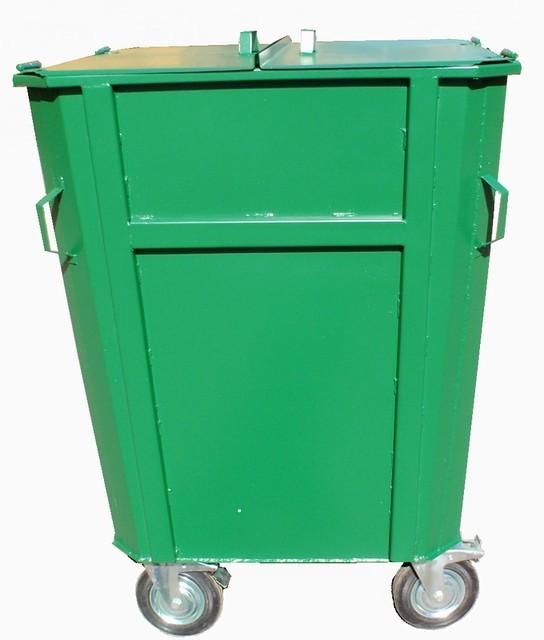 Контейнер для мусора КБМ-0,75 на колесах