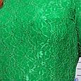 Блуза из гипюра ПАУЛА зеленый, фото 3