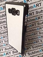Чехол для 2D сублимации пластиковый на Samsung Galaxy A7 черный