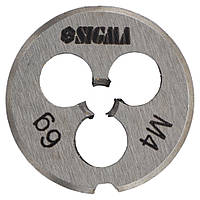 Плашка М4×0,7мм Sigma (1604121)