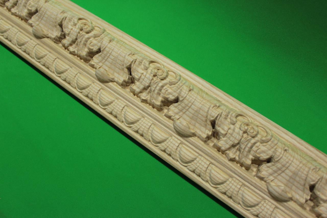 Код М6. Деревянный резной декор для мебели. Молдинги, фото 1