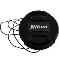 Крышка для объектива Nikon 62mm (с шнурком)