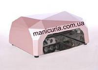 Светодиодная  LED лампа (CCFL & LED) 36W  розовая