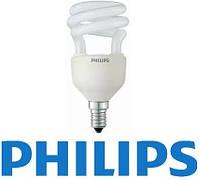 Лампа энергосберегающая PHILIPS Tornado T2 Slim 8W/827 E14