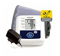 Автоматический тонометр Omron M2 Classic HR с увеличенной манжетой и адаптером
