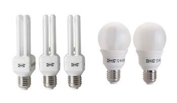 Лампы энергосберегающие КЛЛ специальные