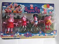 Набор фигурок Свинка Пепа 4 шт