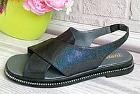 Женские босоножки на платформе. Фабричная обувь