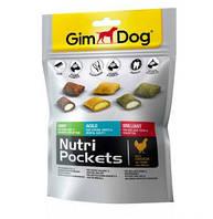 Витаминизированное лакомство для собак GimDog Nutri Pockets микс для зубов, 150 г