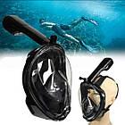 Маска для дайвинга Tribord Easybreath для подводного плавания c креплением для камеры GoPro черная L-XL-140019, фото 3