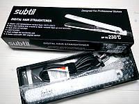 Профессиональный утюжок с турмалиновим покрытием и с цифровым индикатором температуры SUBTIL KERATIN Ducastel