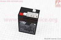 Аккумулятор OT4,5-6 - 6V4,5Ah (L70*W48*H100,mm) для ИБП, игрушек и др., 2019