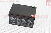 Аккумулятор OT12-12 - 12V12Ah (L150*W98*H98,mm) для ИБП, игрушек и др., 2019