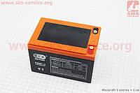 Аккумулятор 6DZM12 - 12V12Ah (L150*W100*H100mm) для ИБП, игрушек и др., 2019