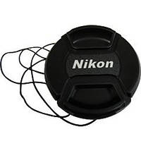 Крышка для объектива Nikon 49mm (с шнурком)