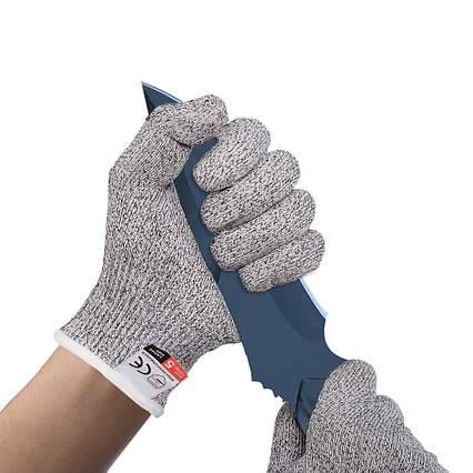 Защитные перчатки от порезов Bingcoo 5 уровень защиты ( L) пара, фото 2