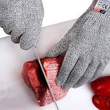 Защитные перчатки от порезов Bingcoo 5 уровень защиты ( L) пара, фото 3