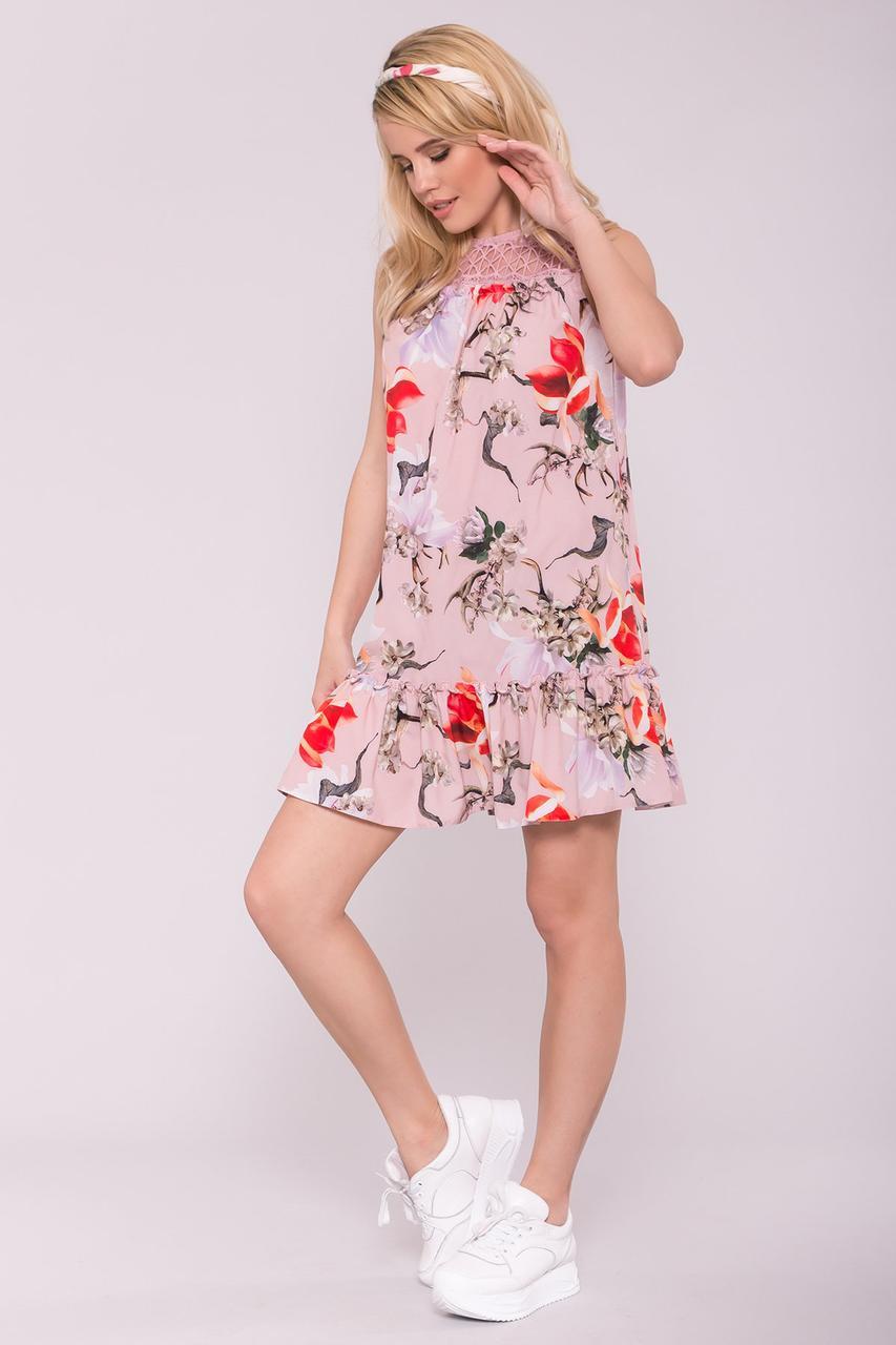 Легкое летнее платье Клим-1