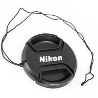 Крышка для объектива Nikon 82mm (с шнурком)
