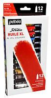 Набор масляных красок Пебео Pebeo Studio 12штх12 мл  для окраски самоотвердевающих масс
