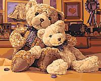 Картина по номерам KH4126 Братец-медведь (40 х 50 см) Идейка