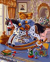 Картина по номерам KH4129 Детская комната (40 х 50 см) Идейка