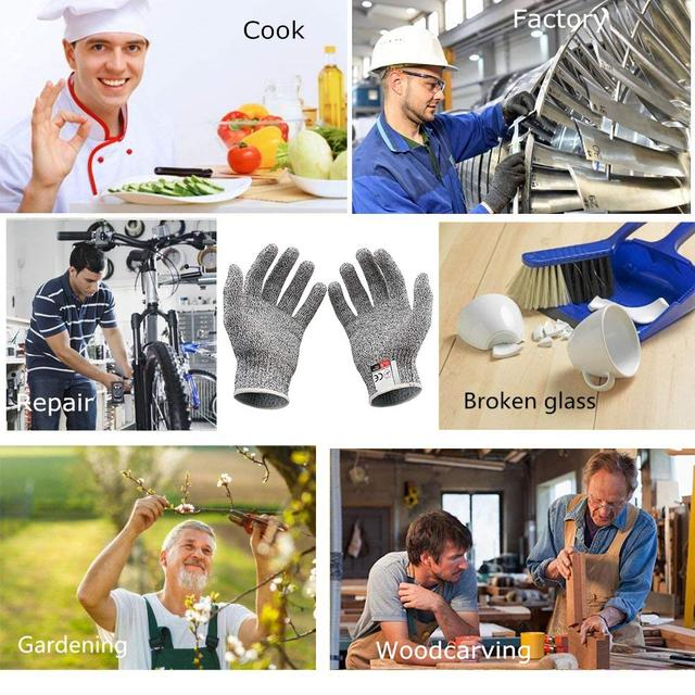 Защитные перчатки устойчивые к порезам
