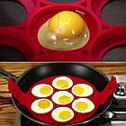 Форма силиконовая для приготовления яичницы, омлета, блинов, картофельных оладий., фото 4