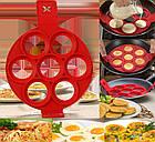 Форма силиконовая для приготовления яичницы, омлета, блинов, картофельных оладий., фото 6