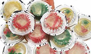 Презервативи з кульками і вусиками (3 шт в упаковці)