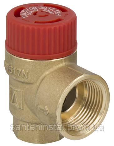 Предохранительный клапан 6,0 бар 1/2 х 3/4 AFRISO 42392