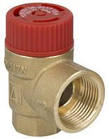Предохранительный клапан 6,0 бар 1/2 х 3/4 AFRISO 42392, фото 1