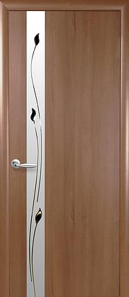 Двери Новый Стиль Злата + Р1 золотая ольха, коллекция ПВХ Квадра P, фото 2
