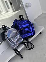 Модный рюкзачок детский голографический