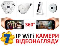 Беспроводная IP WiFi Камера Наблюдения Видеонаблюдения VR360 Рыбий глаз Панорамная
